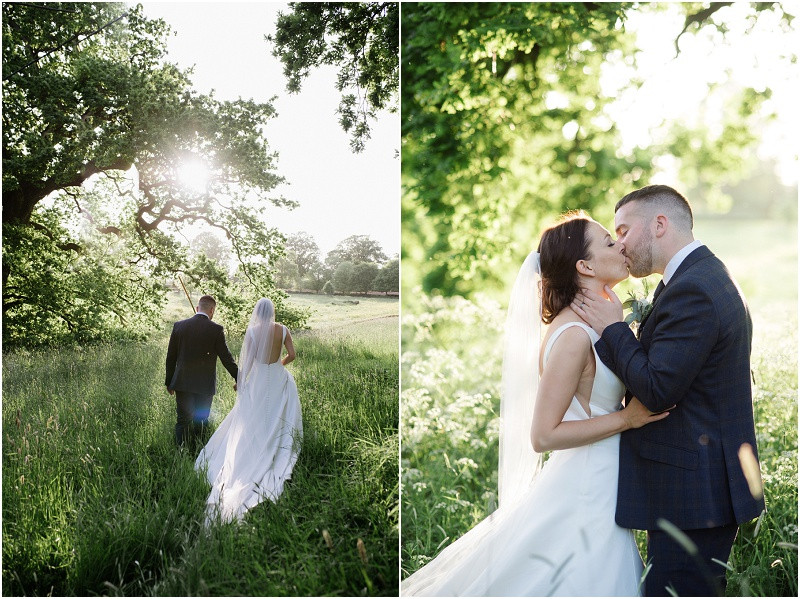 From your wedding photos to your wedding venue, entertainment and flowers, check out these five steps to plan your dream relaxed Gloucestershire wedding. Bride and groom at Pennard House