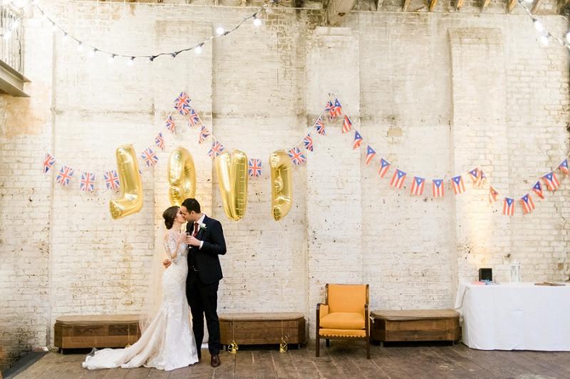 Laid back wedding at Brixton East London wedding venue