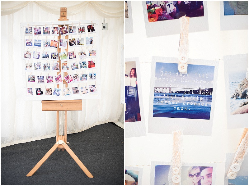 Polaroids at a gay wedding, The Outbuildings, Anglesey
