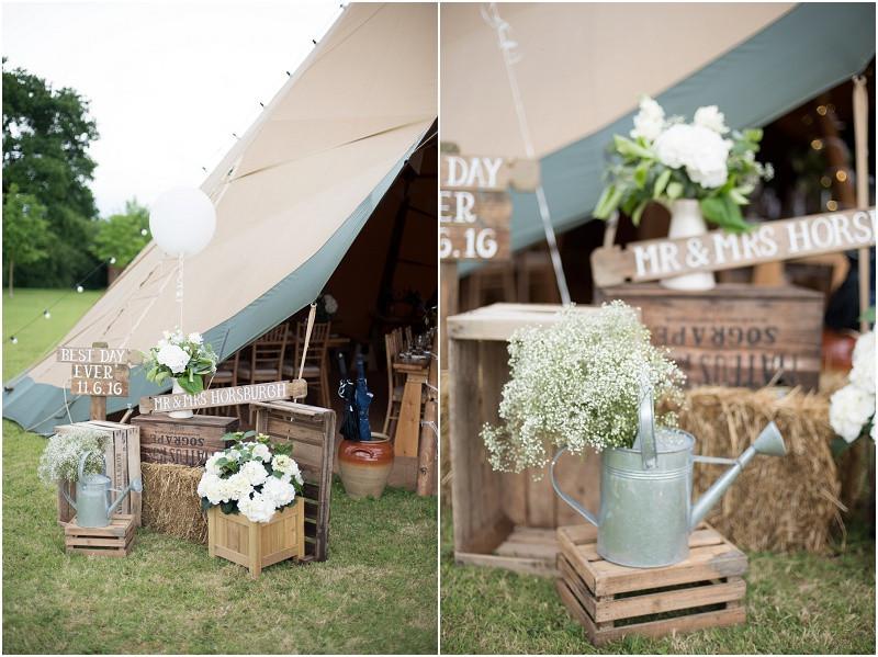 Boho tipi wedding Peak tipis Nottinghamshire