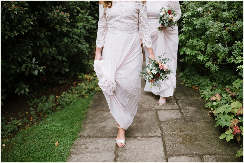 An Autumn wedding at Dewsall Court with Coast bridesmaid dresses