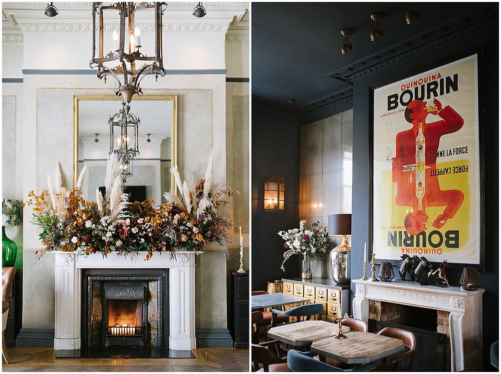 An intimate wedding at luxury wedding venue No131 Cheltenham