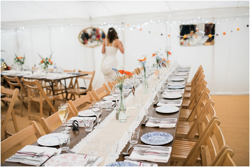 Cotswolds marquee wedding venue The Perch Inn Oxford