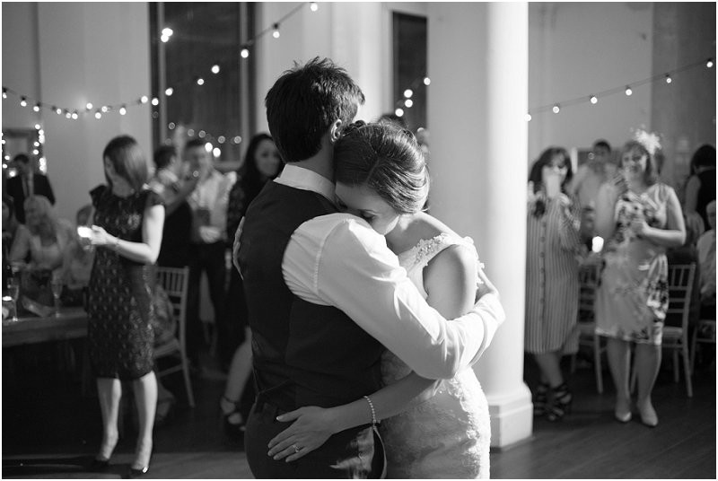 dancing at a cool, laidback city wedding at Oh Me Oh My, Liverpool
