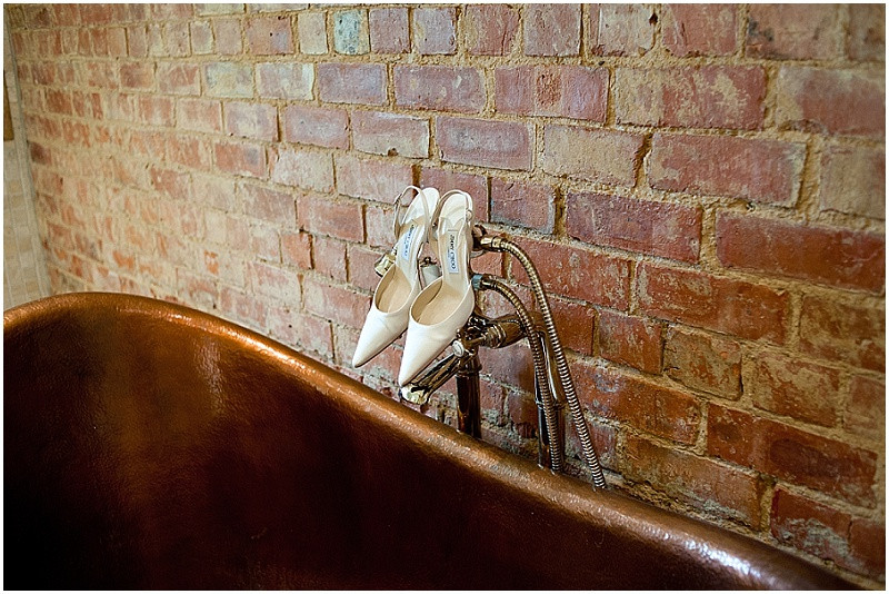 Jimmy CHoo shoes for an elegant wedding at Dodford Manor Northamptonshire