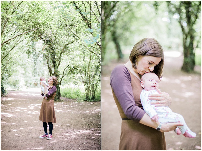 Cotswolds mother and baby photography Worcester Woods
