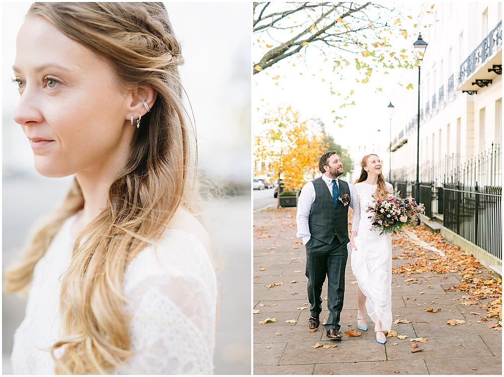 An Autumn wedding at luxury wedding venue No131 Cheltenham
