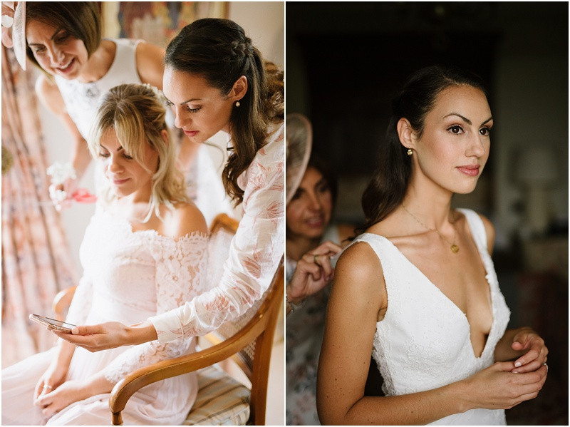 An Autumn wedding at Dewsall Court with Cymbeline Paris dress