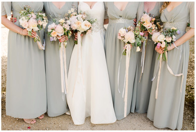 Wedding bouquets by Vervain floristry