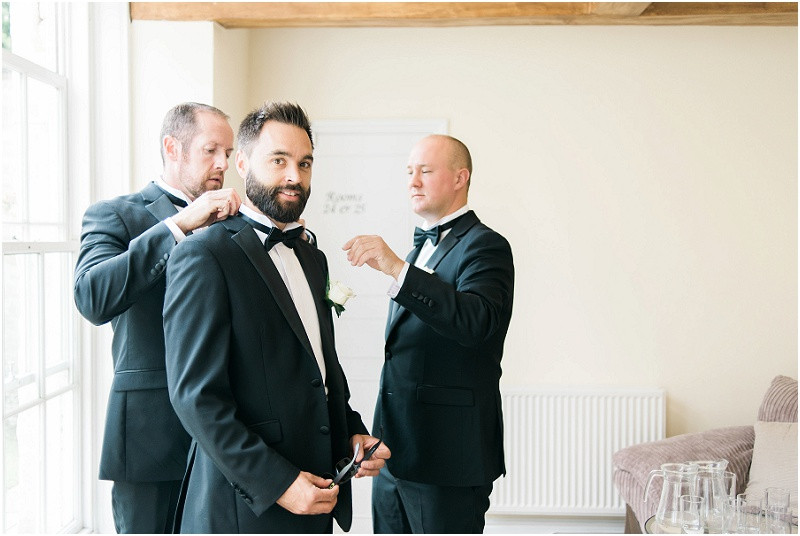 An elegant Cotswolds black tie wedding at Eastington Park