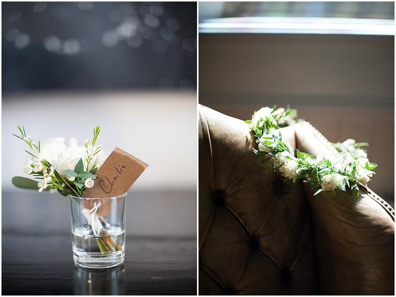 boho flowers for a military wedding in Malmesbury