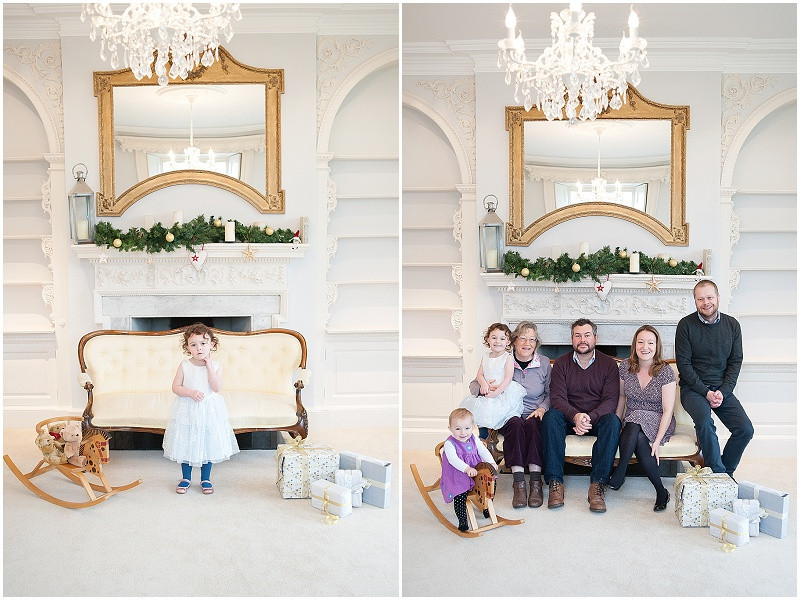 Twyning park christmas fair family photography
