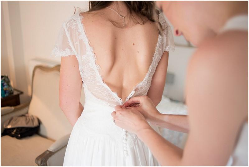 Boho dress tipi wedding Peak tipis Nottinghamshire