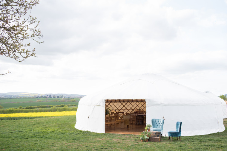 Cotswold wedding marquee hire ideas