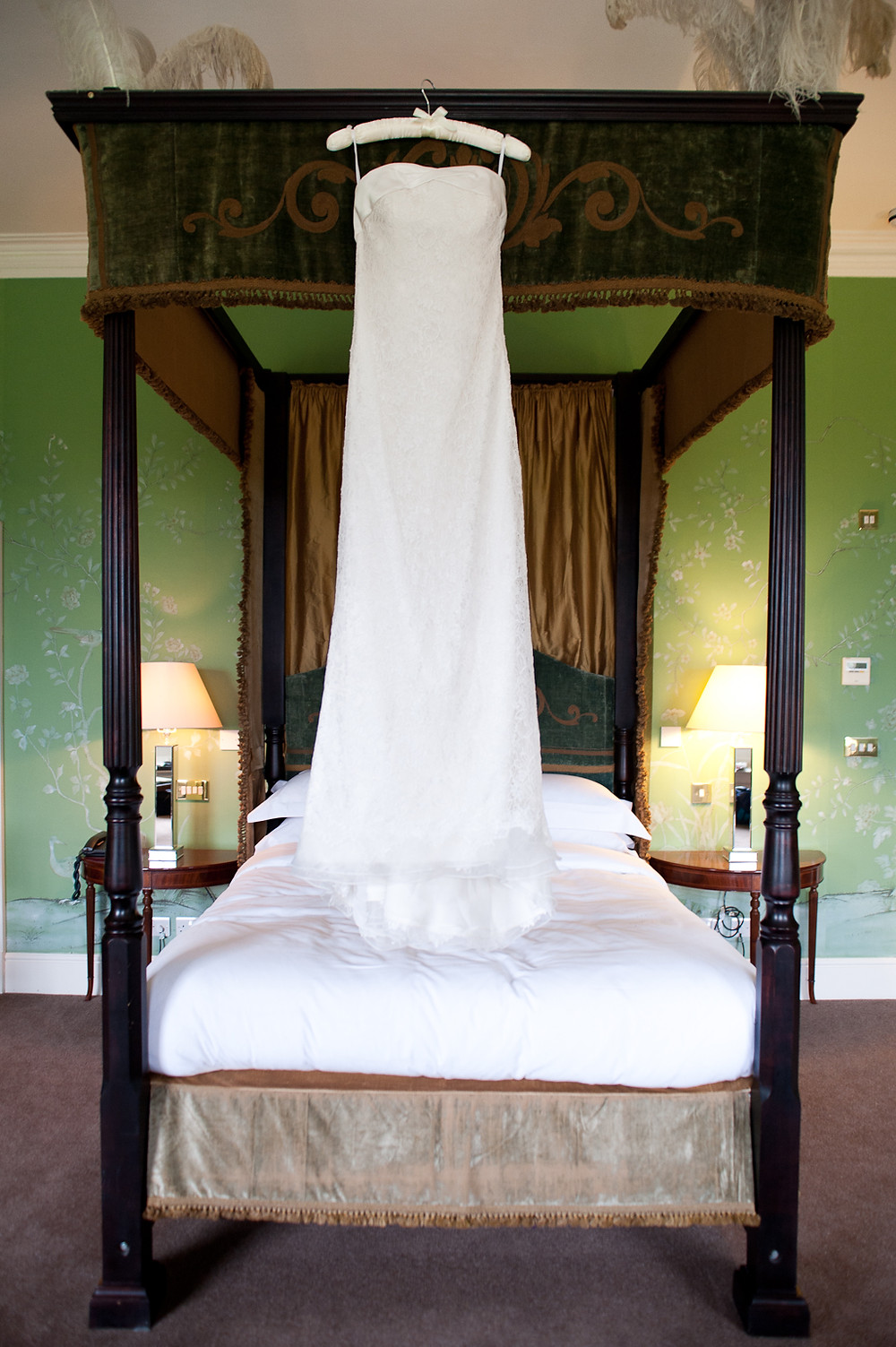 Stubton Hall wedding dress