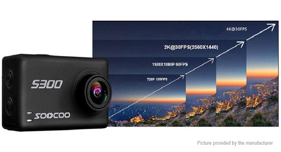SOOCOO S300 4k 30FPS ACTION CAMERA | live8gadgets