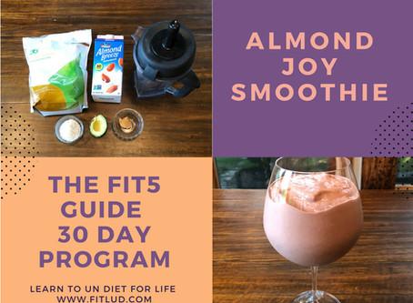 Almond Joy Bar the Fitlud way