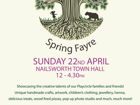 Spring Fayre Reflection!