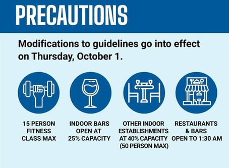 Chicago Eases COVID Restrictions on Bars, Restaurants, Fitness Classes