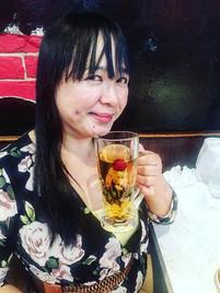 #TeaTime _Beloved Ate enjoying #Sizzling
