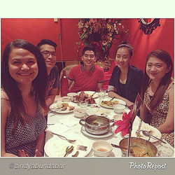 Instagram - The gorgeous group!  Thank you for dining at #SizzlingFillo  @cindya
