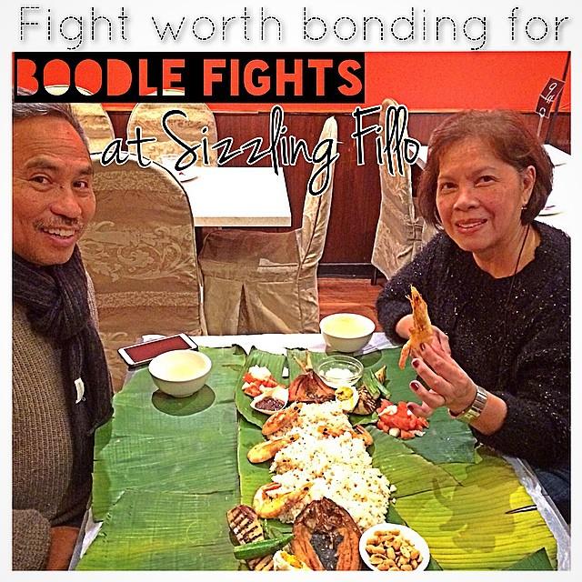 Instagram - Thank you Tito Lito and Tita Elaine! 😘 #SizzlingFillo's weekend #Bo