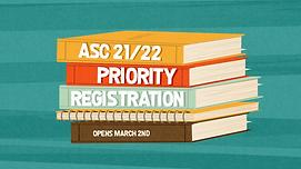 ASC 2021 Announcement_ASC 2122 priority