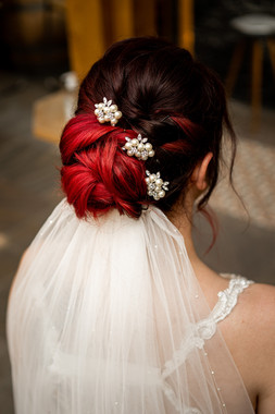 Bride Curly Updo