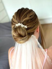 Textured Bridal Bun