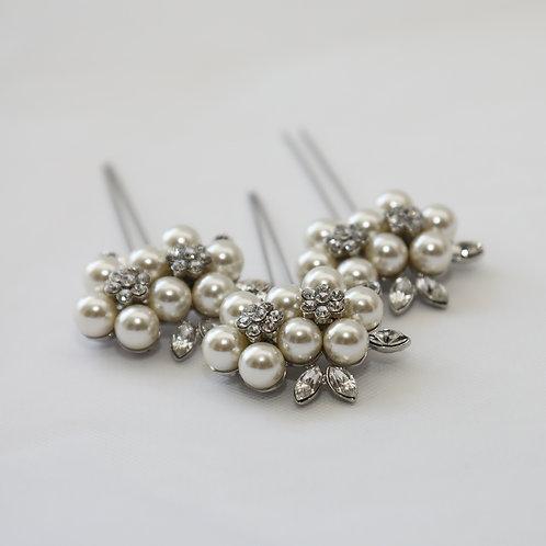 elegant bridal pins