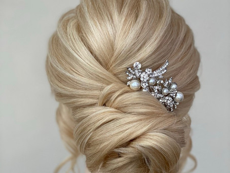 What to consider when choosing your bridal hair
