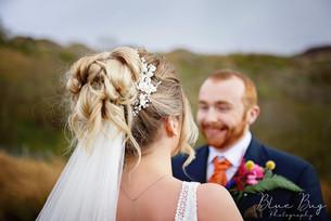 Soft bridal hair