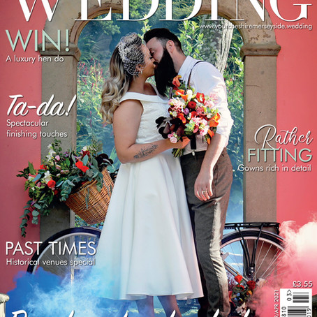 Front Page in Your Cheshire &  Merseyside bridal magazine