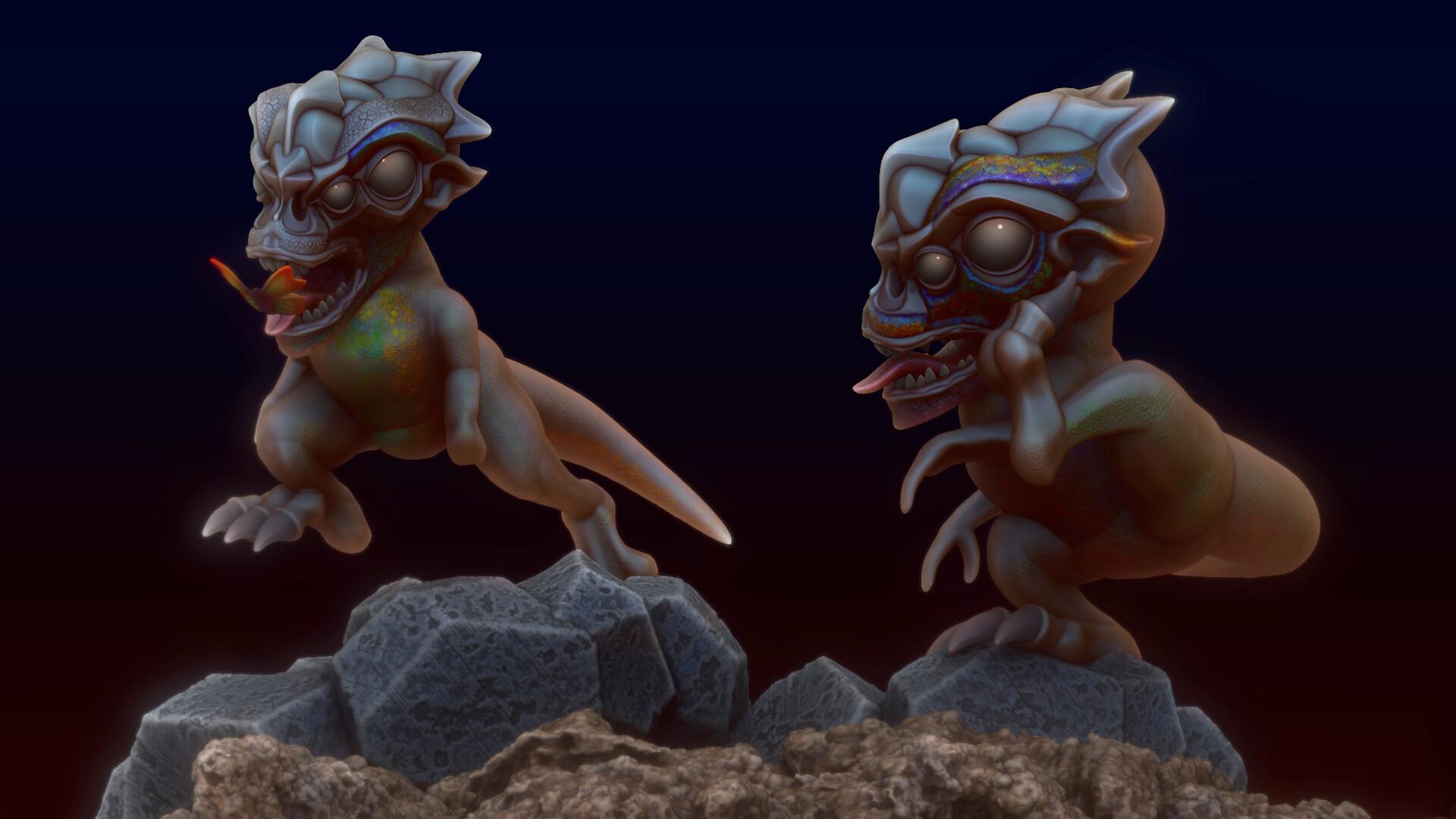 gareth-sibson-cute-dino-aliens-2