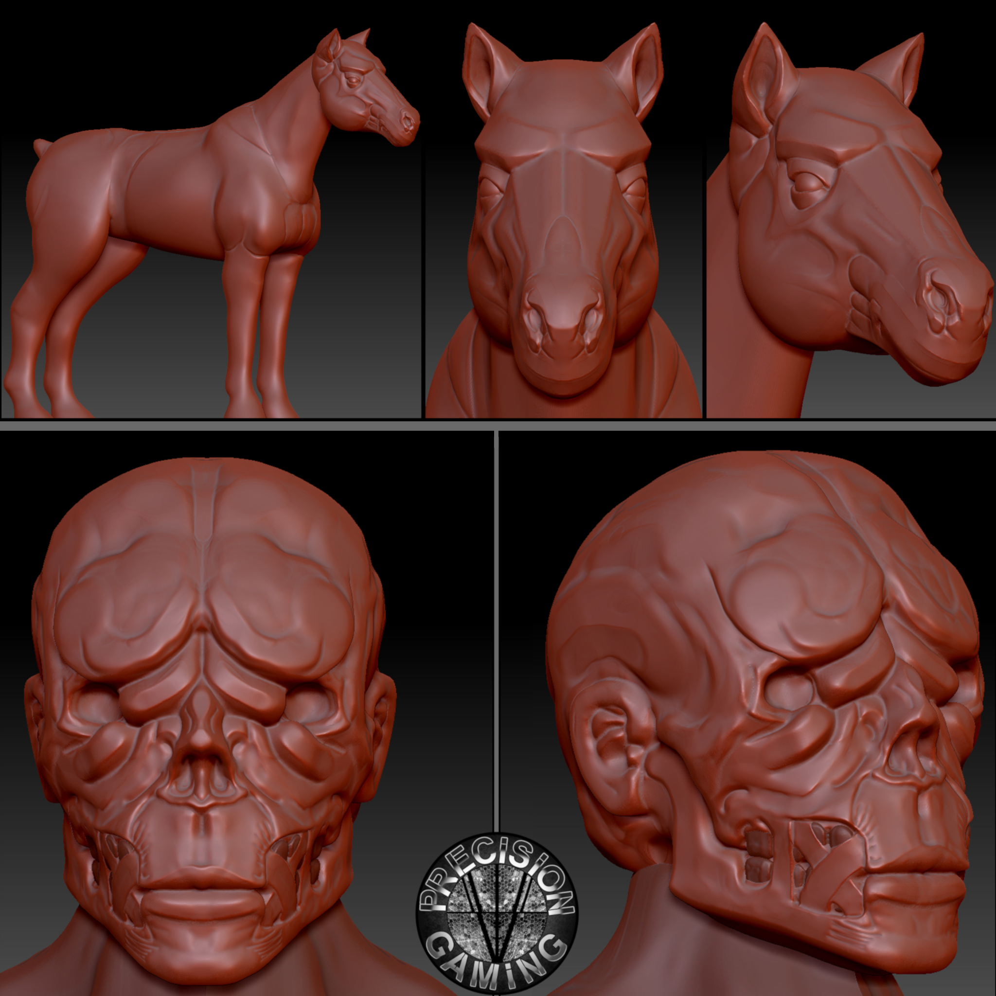 11_horse_and_alien_sculpt_2018_GS