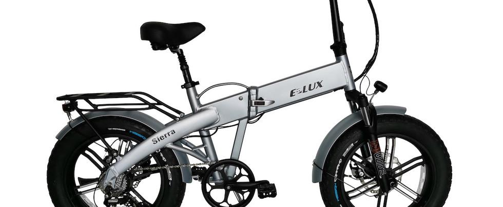 E-Lux Electric Bikes Sierra GT Ice Grey