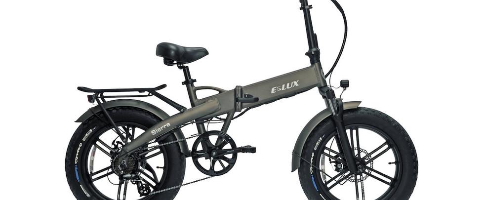 E-Lux Electric Bikes Sierra GT Gunmetal