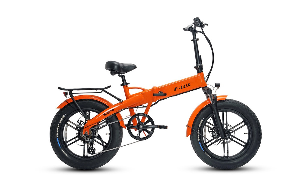 E-Lux Electric Bikes Sierra GT Orange