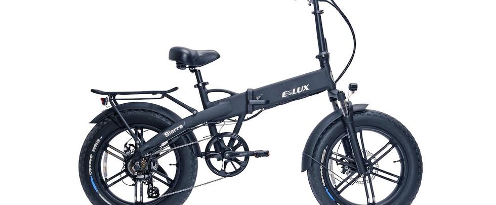 E-Lux Electric Bikes Sierra GT Matte Black