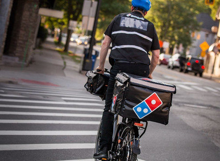 You Can Now Get Your Pizza From an E-Biker