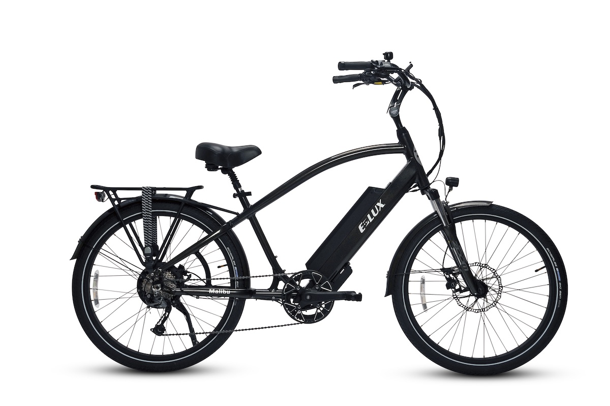 Malibu Gun Metal Electric Bike by