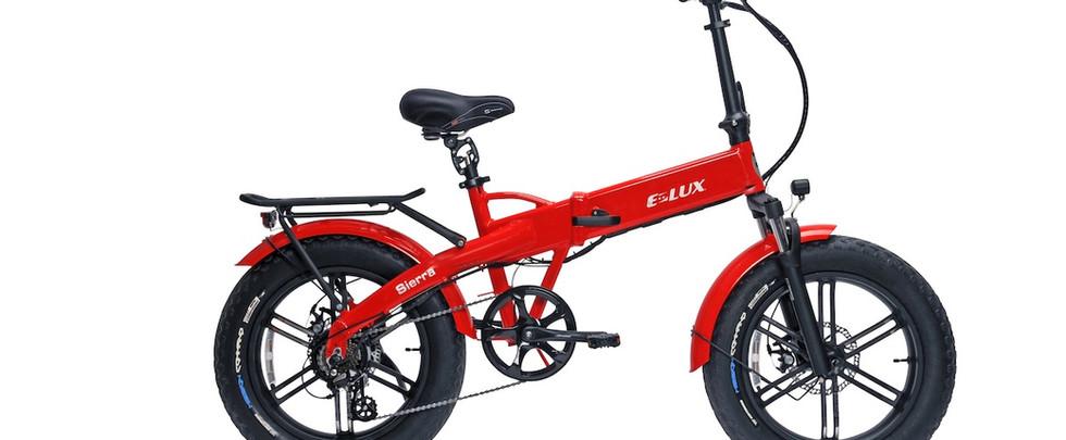 E-Lux Electric Bikes Sierra GT Red