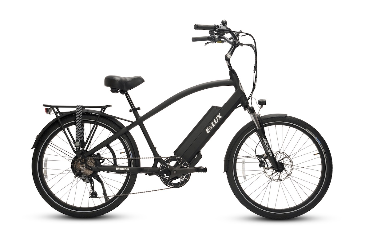 Malibu Matte Black Electric Bike by