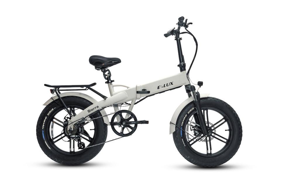E-Lux Electric Bikes Sierra GT Gloss White