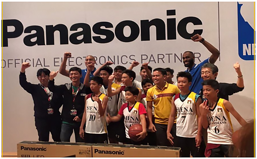 Panasonic x NBA