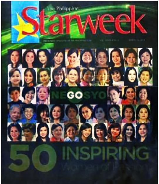 GoNegosyo Starweek Magazine cover