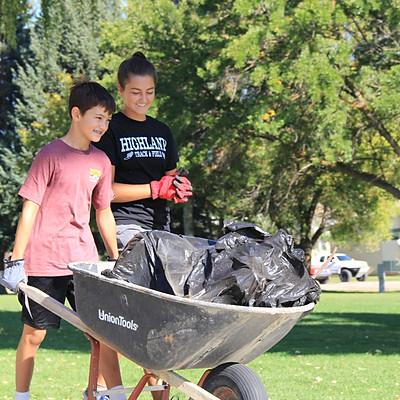 Weber River Clean Up 2018