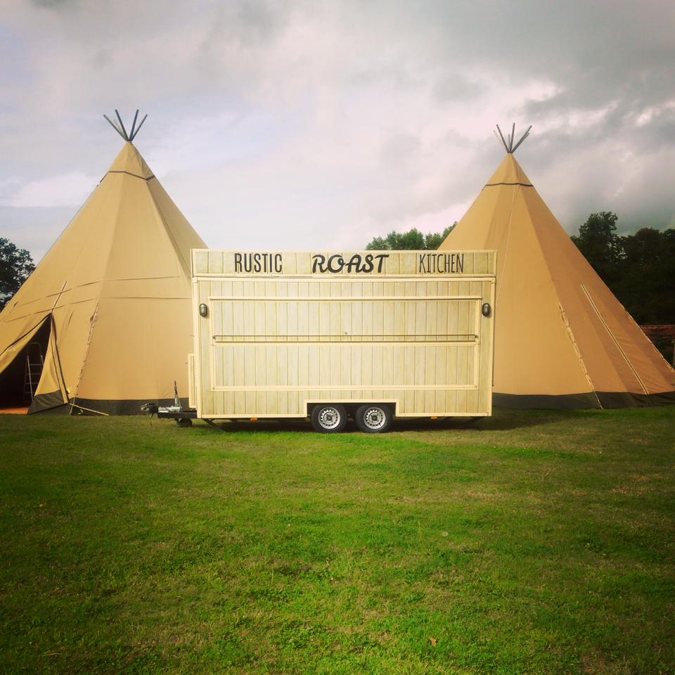 Tipi Wedding Catering