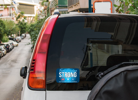Fort Dodge Strong Decal