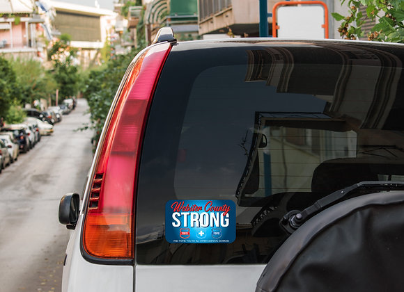Webster County Strong Decal